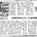 7月21日の朝日新聞掲載
