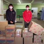 カーブス平塚徳延店様よりご寄付いただきました。